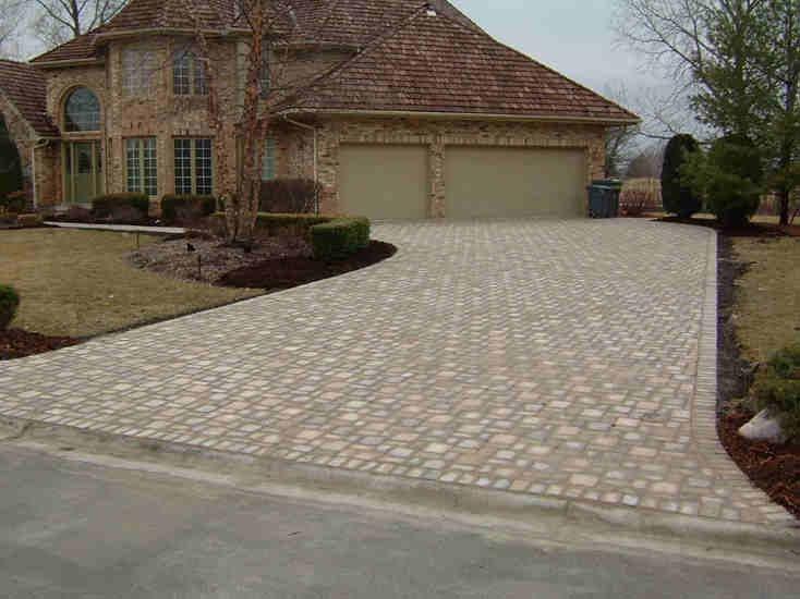 Brick Pavers Walkway