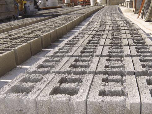 fondazione in cemento