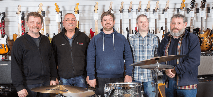 Salop Music Centre team