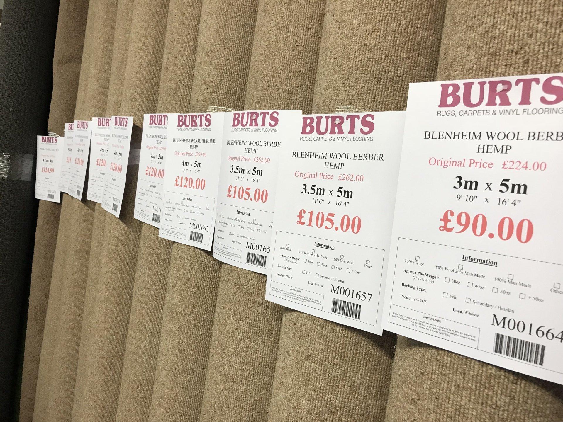 Carpet Remnants Amp Flooring Roll Ends Burts Of Darlington