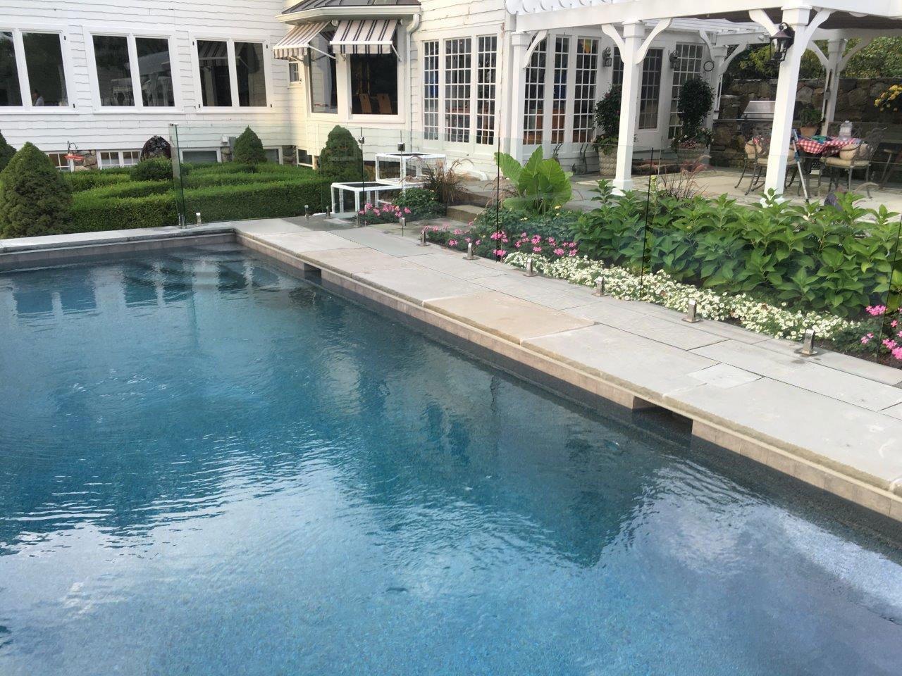 Pool Stamped Concrete Contractor Darien, Westport, New Canaan, CT
