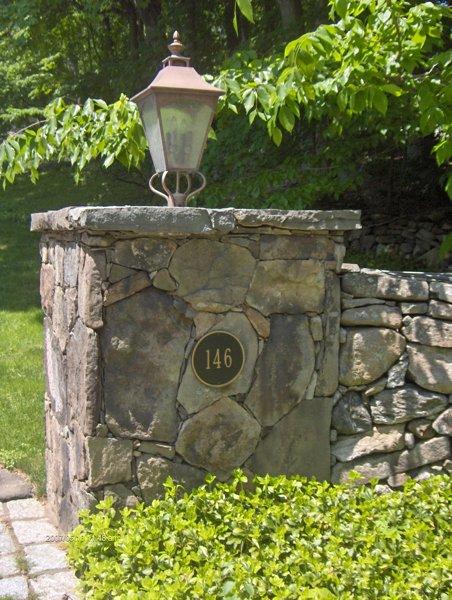 Column Design Masonry Work New Canaan, Darien, Westport, CT