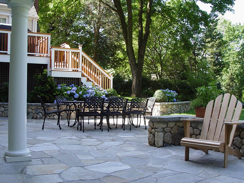 Stone & Masonry Services Darien, New Canaan, Westport, CT | Earthscapes