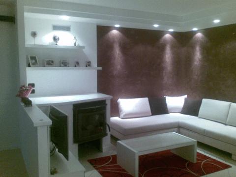 ambienti con pareti in cartongesso