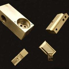 componenti acciaio fresate