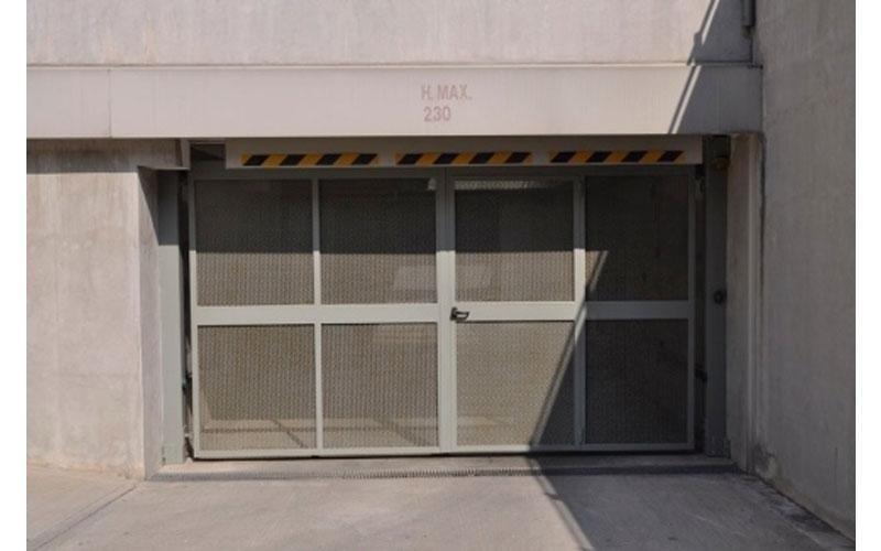 porte sezionali parcheggio