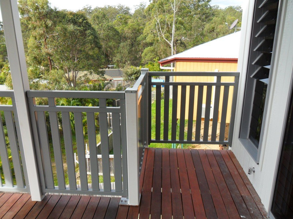Grey balustrades