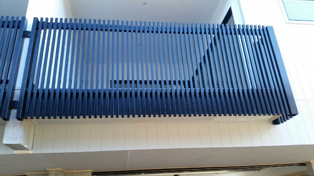 Custom balustrades by gates by don
