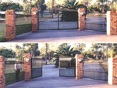 Black custom gate
