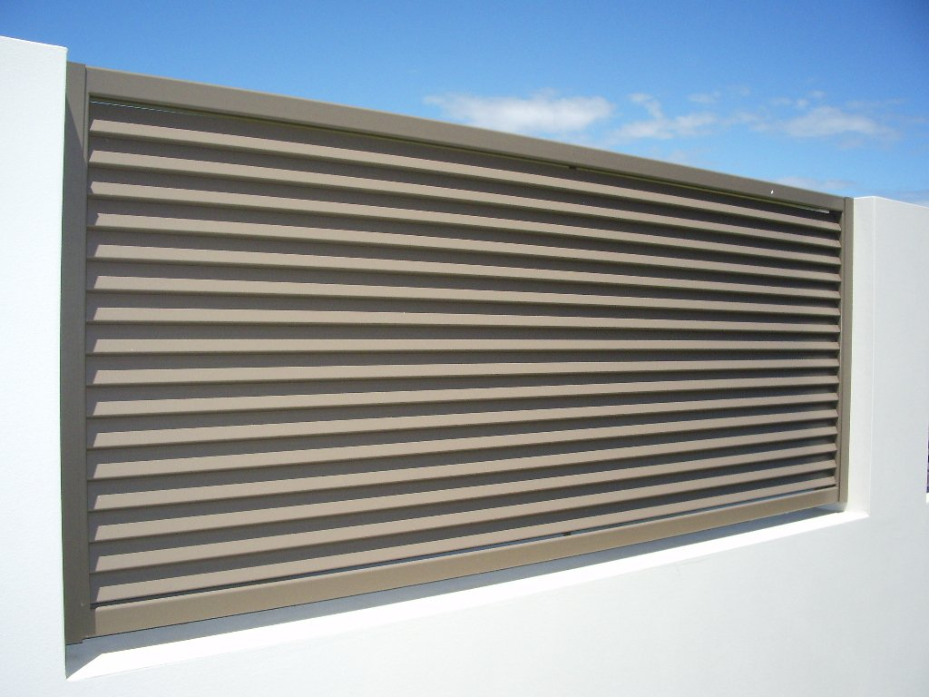 Large custom fence panel
