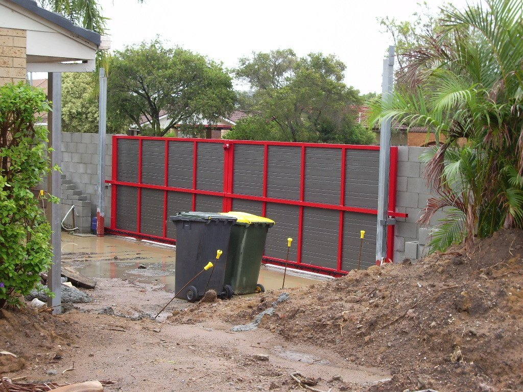 Bi-parting gates installed by experts