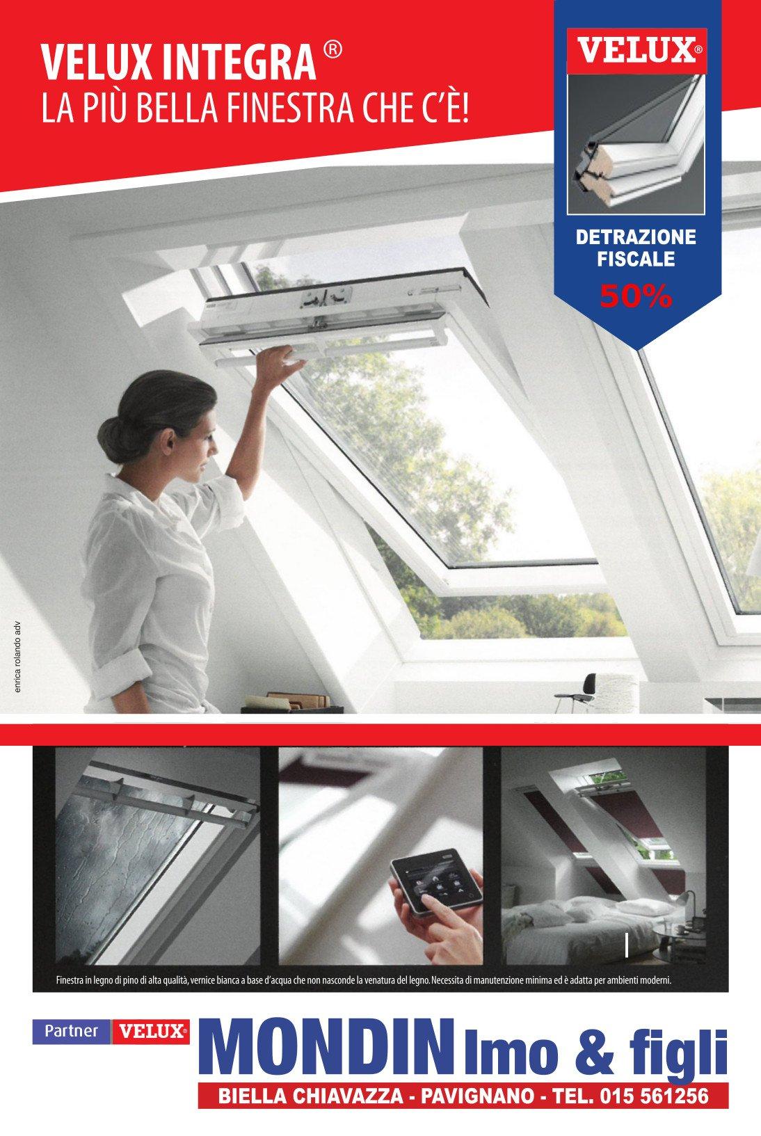 Velux la finestra per tetti biella mondin imo figli for Velux tende ricambi