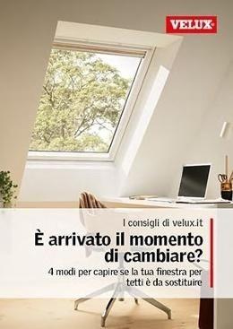 Velux la finestra per tetti biella mondin imo figli for Ricambi tende velux