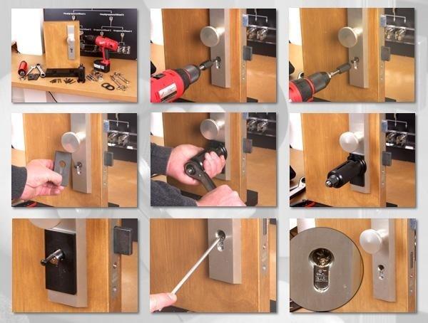 metodo di estrazione forzata del cilindro tramite campan