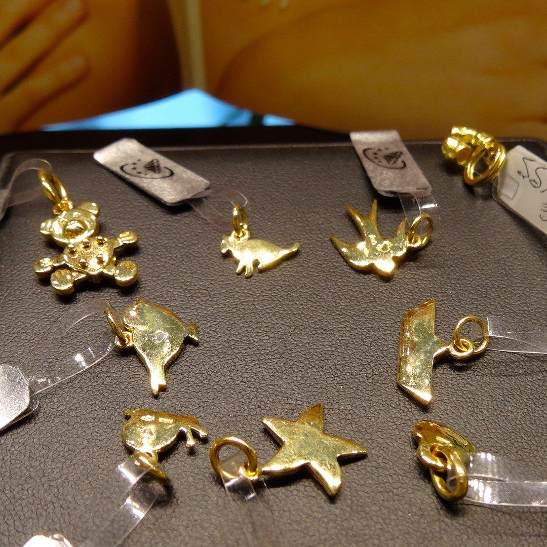 Ciondoli in oro a Rimini