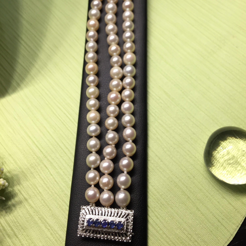 Bracciale in argento con perle a Rimini