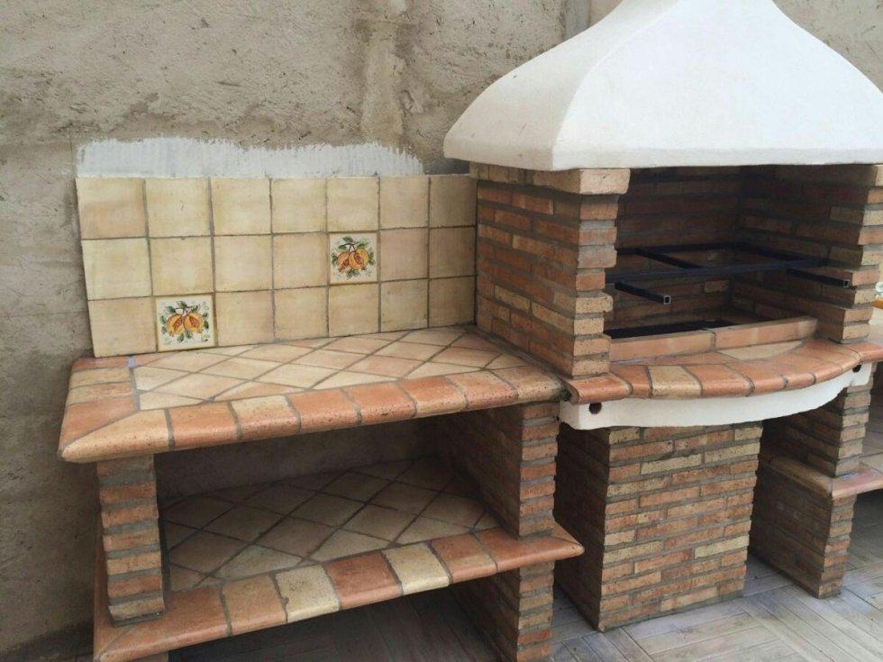 Barbecue a mattoni for Mattoni refrattari bricoman
