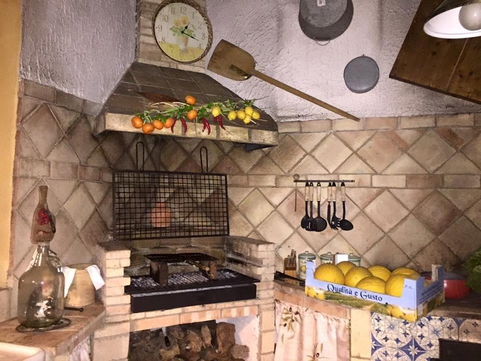 cucina in cotto siciliano