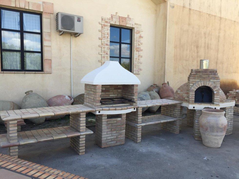 Barbecue in pietra