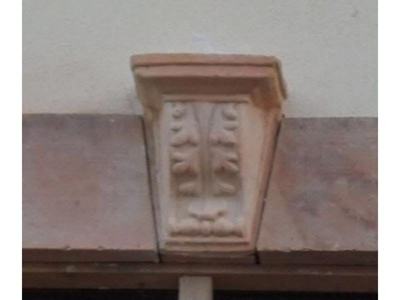 Decoro esterni in terracotta