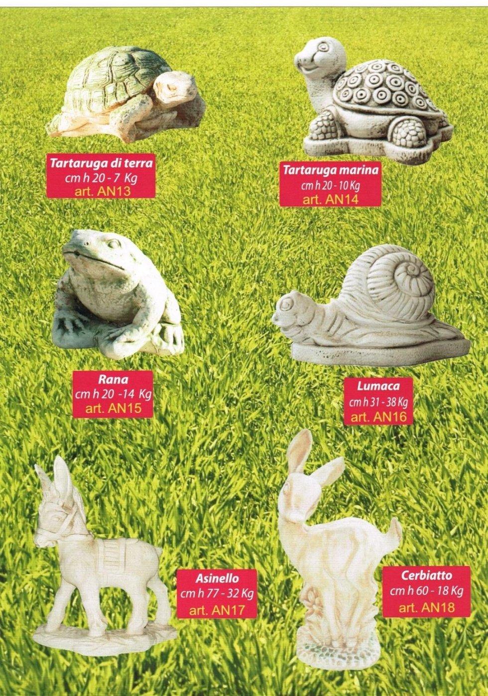 animali da giardino