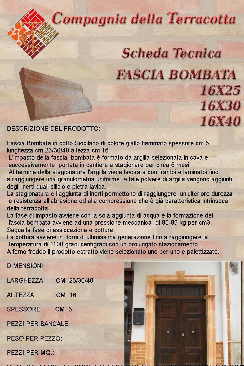 Fascia bombata