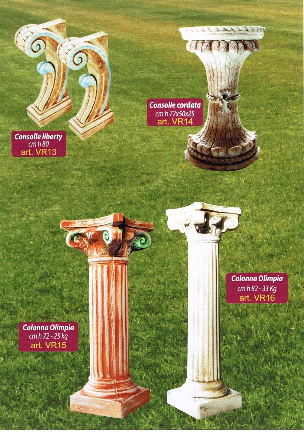 colonne da giardino