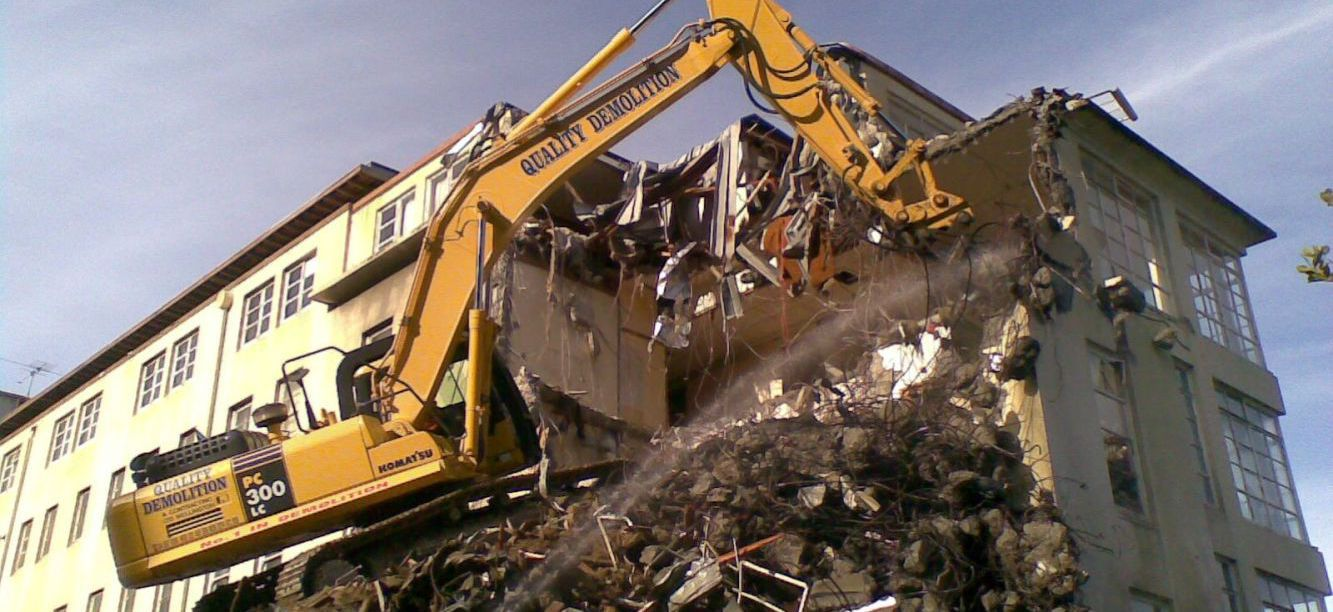 Commercial and domestic demolition in Wellington