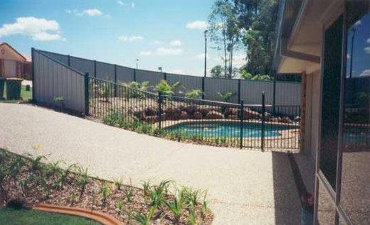 aluminium boundary fences