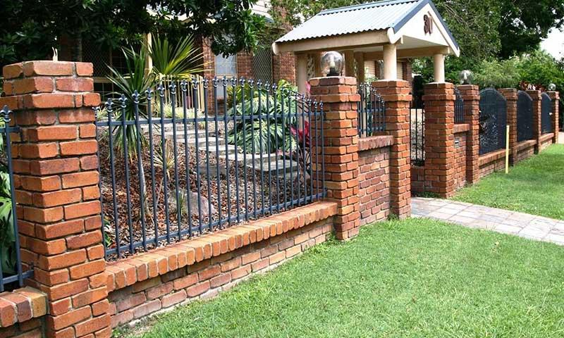 classic decorative fence