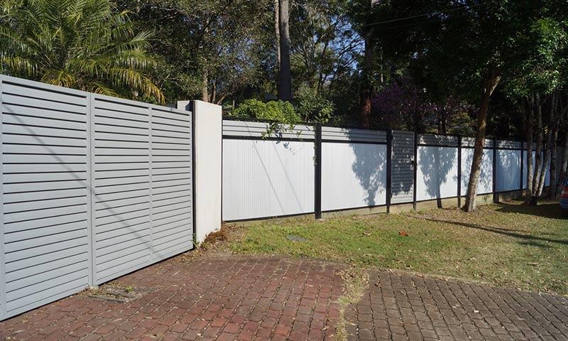 modern boundary fences