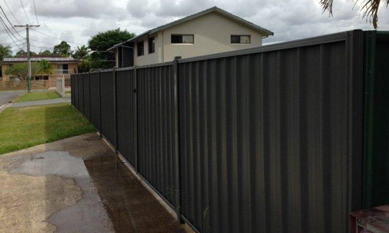 aluminium security fencing