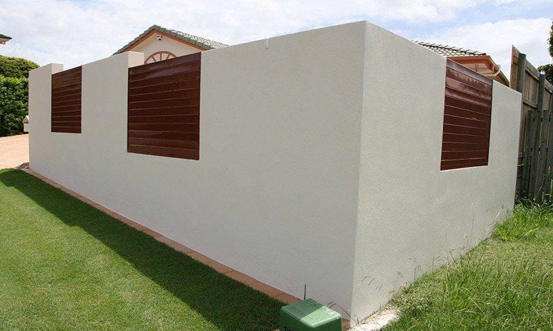 concrete boundary fences
