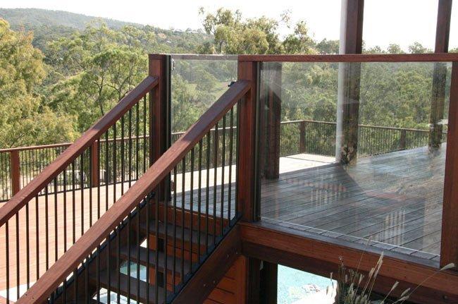 backyard verandah steps