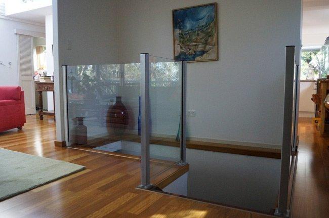 indoor balustrades