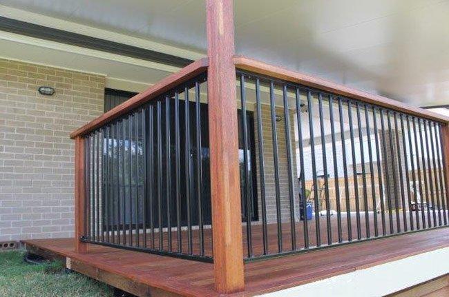 backyard balustrades