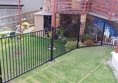 topdog aluminium fencing
