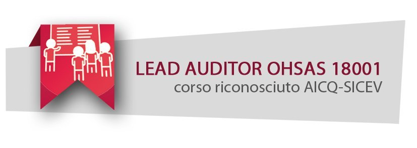Corso Lead Auditor Ohsas 18001