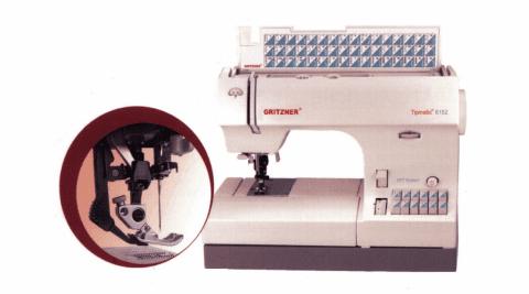 macchina per cucire gritzner tipmatic 6152