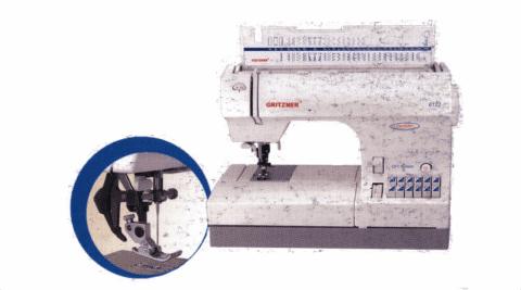 macchina per cucire gritzner 6122