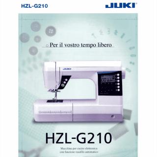 macchina per cucire elettronica hzl-g210