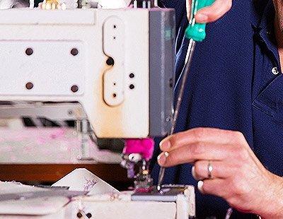 riparazione macchina da cucito