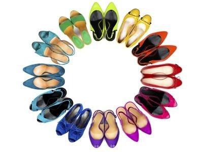 Pulizia scarpe donna