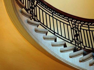 scale realizzate in marmo