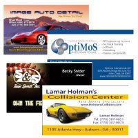 Business Card Design and Printing in Gwinnett