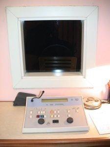 cabina silente dettaglio finestra