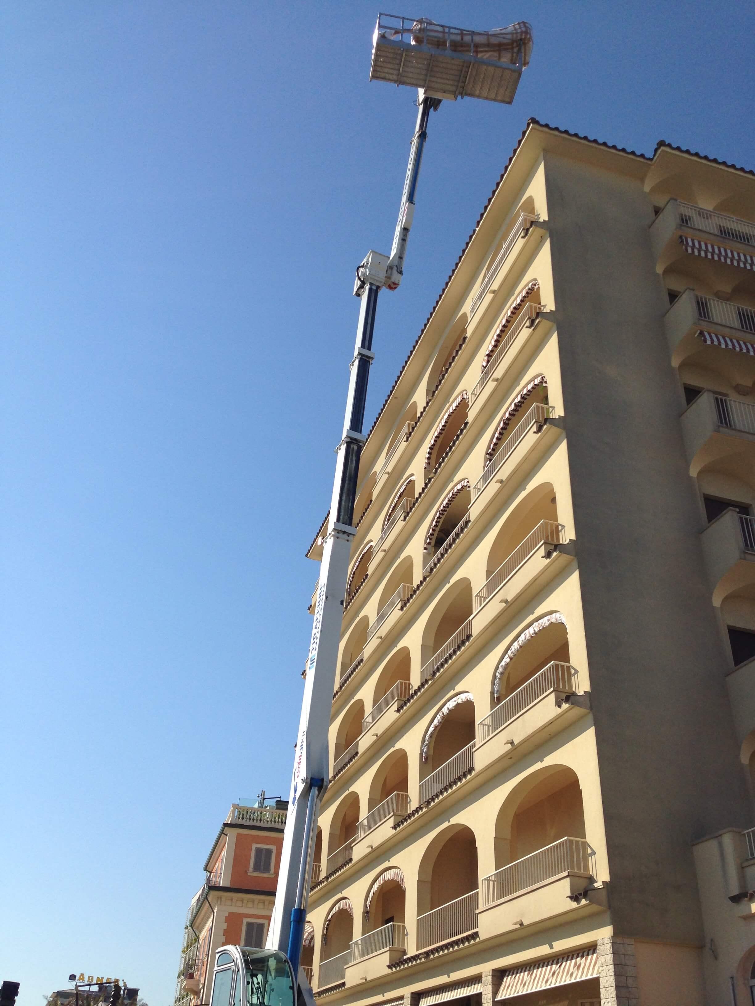 piattaforma aerea a Perugia