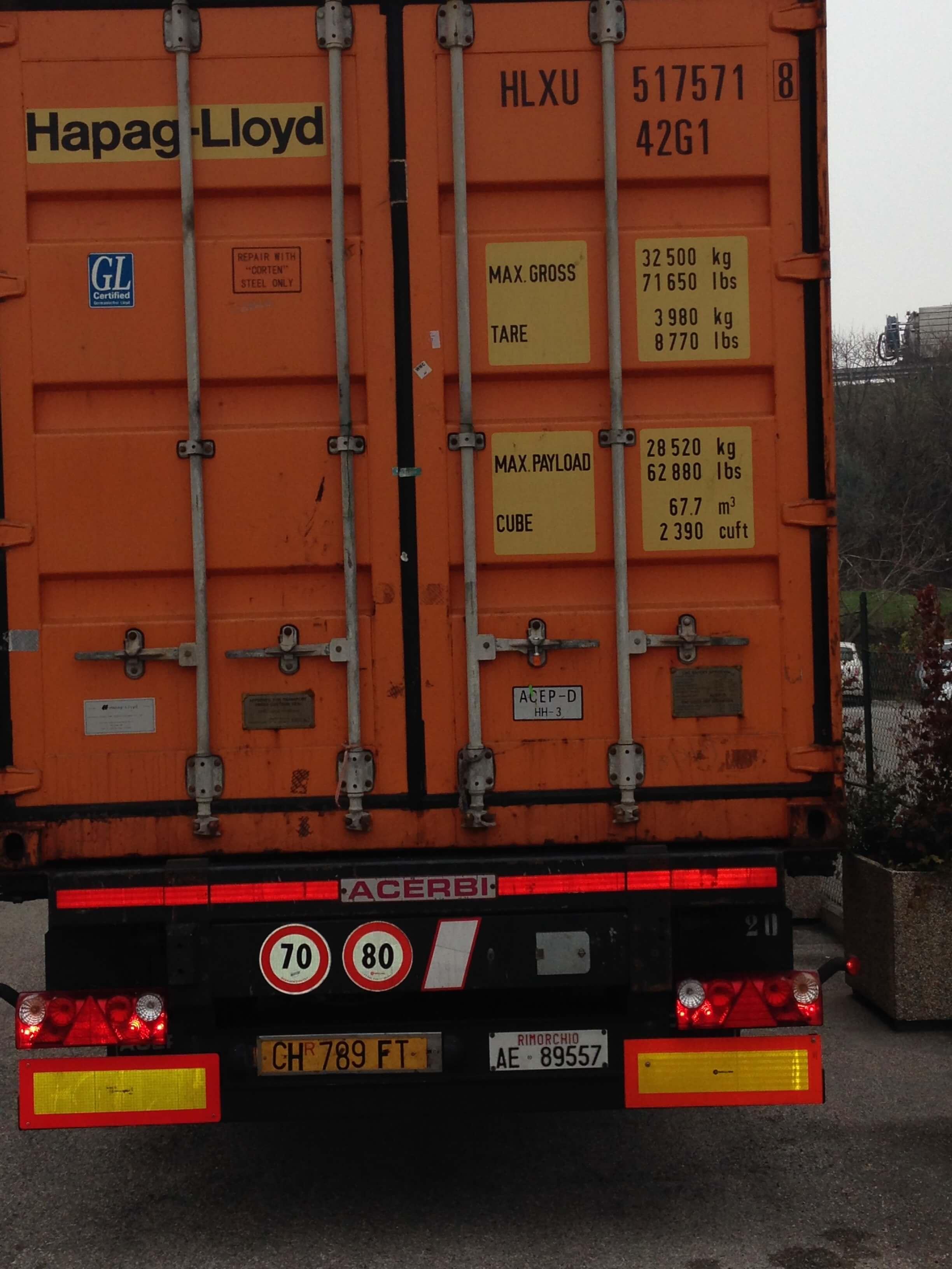camion per i traslochi a Perugia
