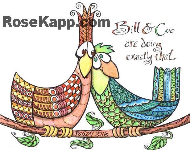 worry birds, love birds, courting