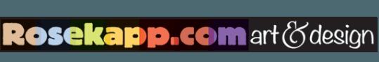 Rosekapp.com Art & Design Logo